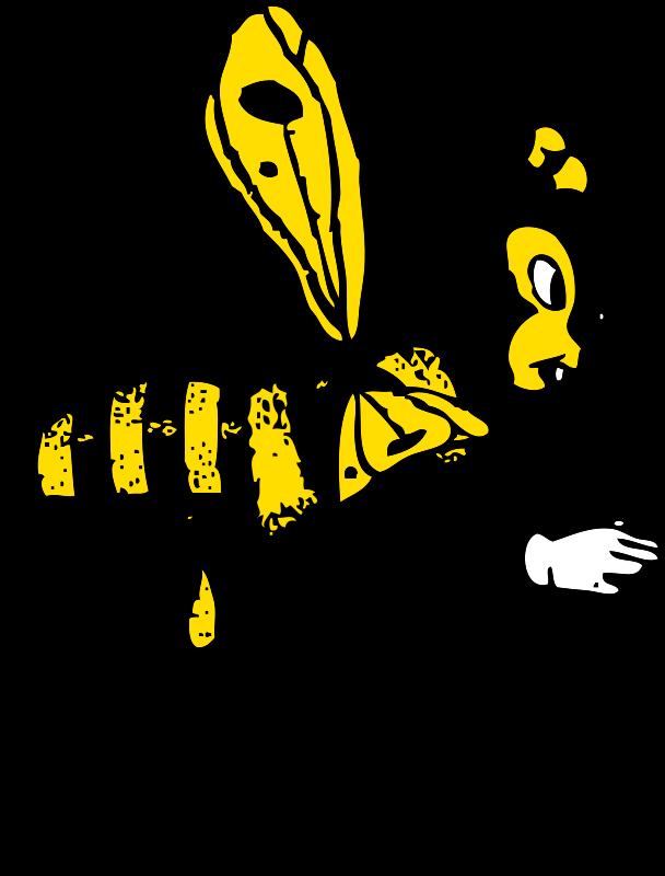 Honeycomb clipart bee pollination. Free stock photo illustration