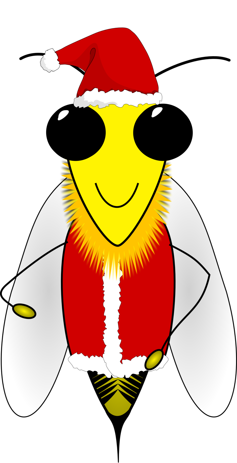 Public domain clip art. Clipart bee character