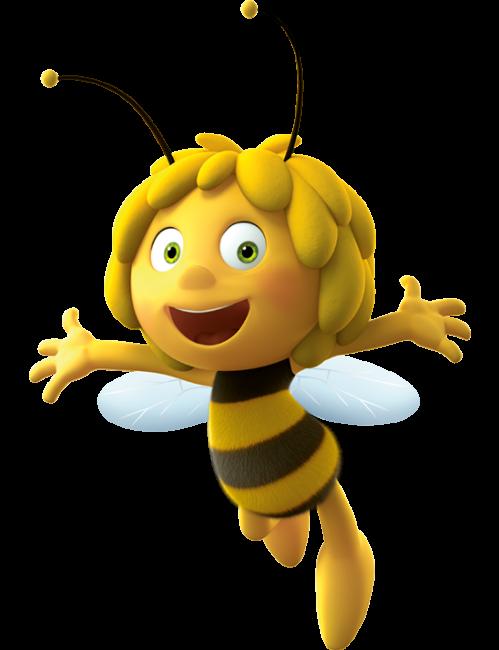 Maya de bij idees. Clipart bee character