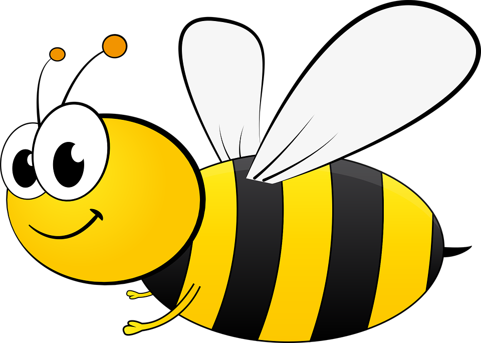 Clipart bee clear background. Cartoons desktop backgrounds free