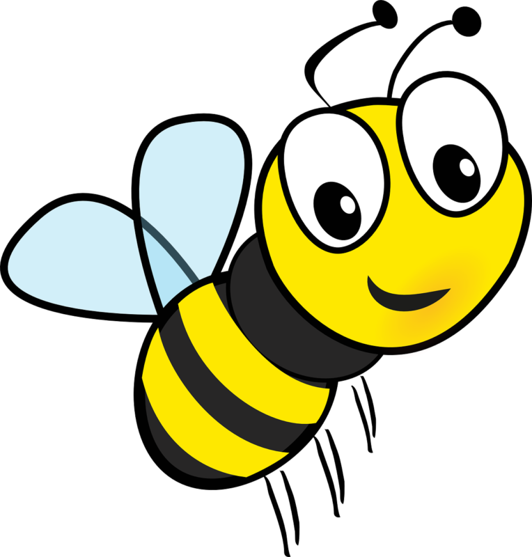 Clipart bee clear background. Best free images photos