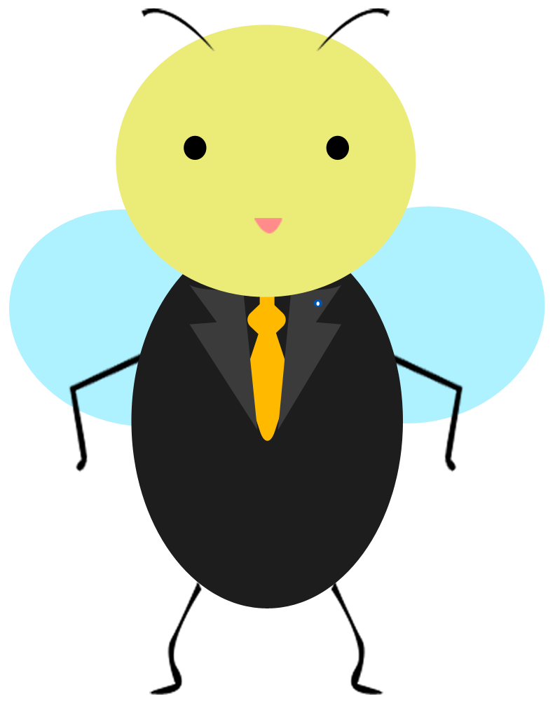 Clipart bee clear background. Archive graphics created by
