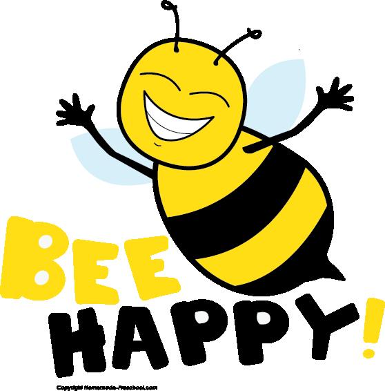 Queen clipart happy. Cute bee clip art