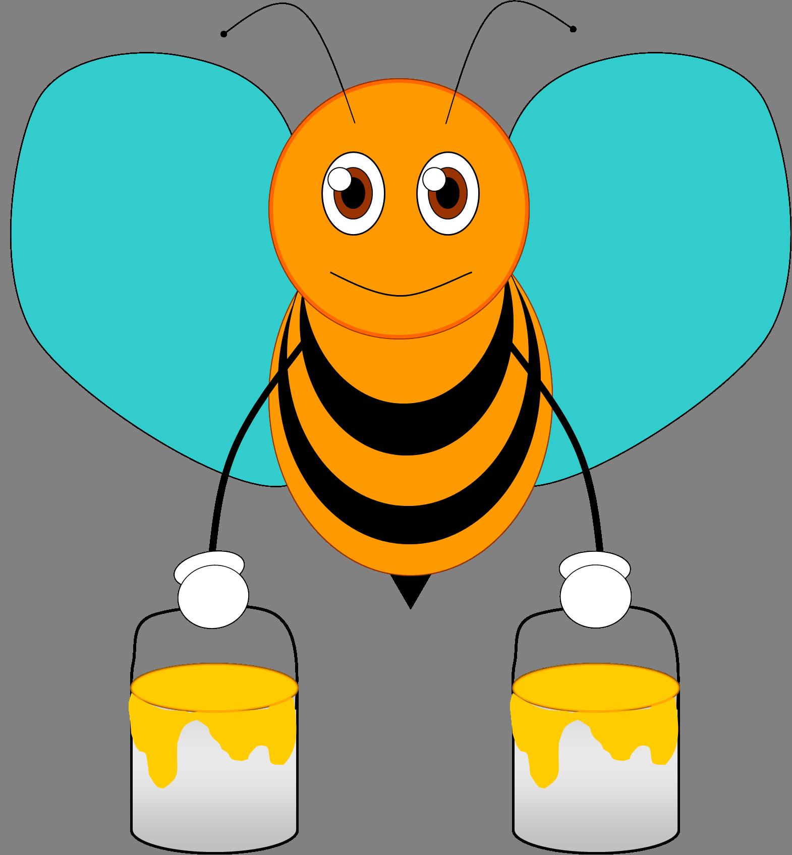 Borboletas joaninhas pinterest bees. Clipart letters bee