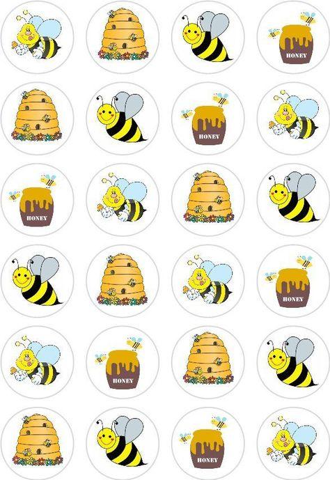Clipart bee cupcake. Pinterest