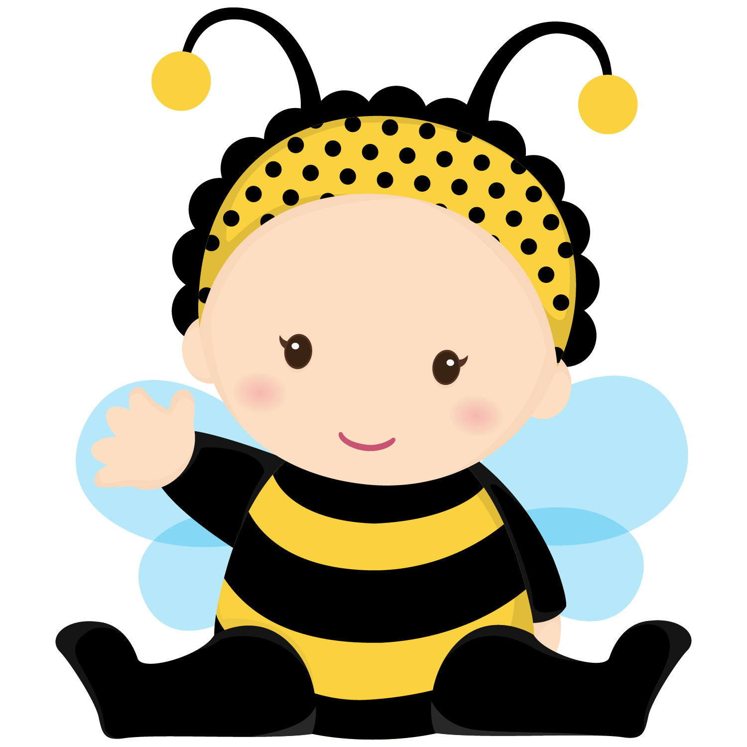 Kid clipart bee.  collection of cute