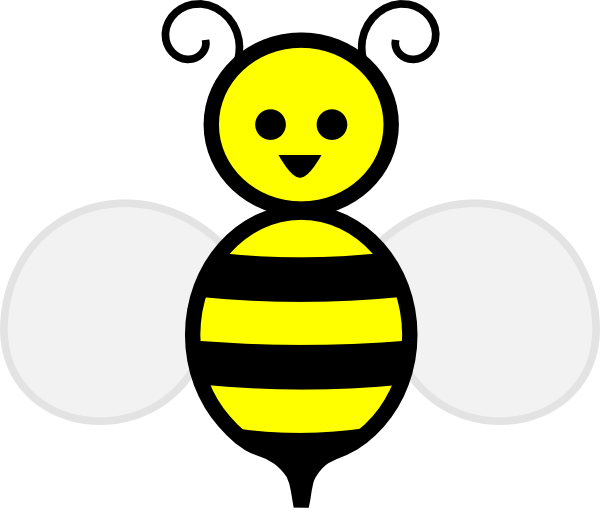 Cute honey bee panda. Honeycomb clipart animated