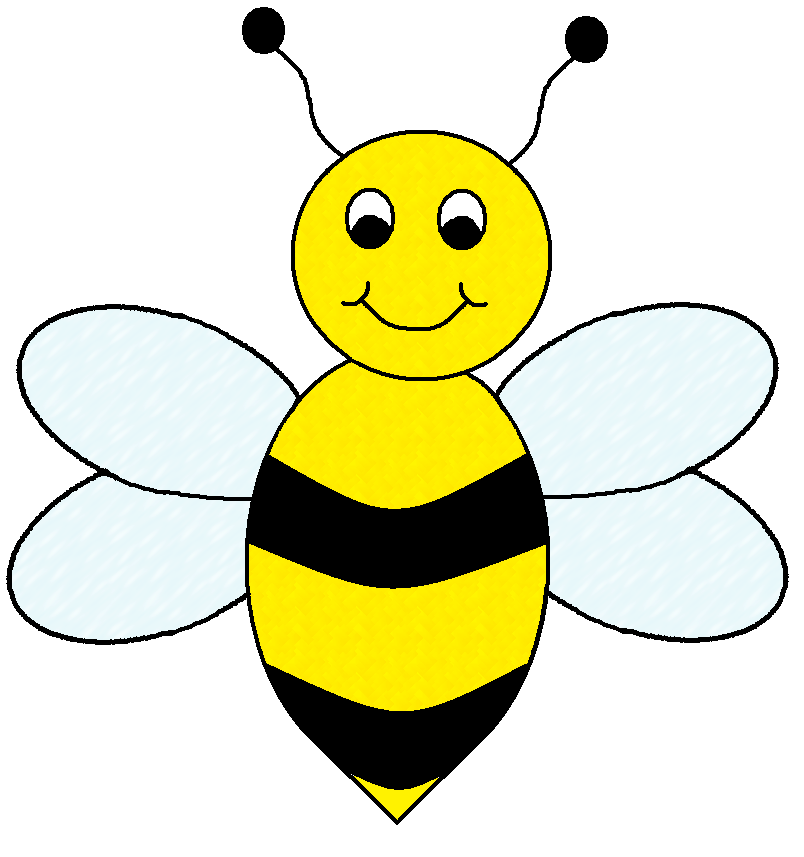 Free bee . Flying clipart animated
