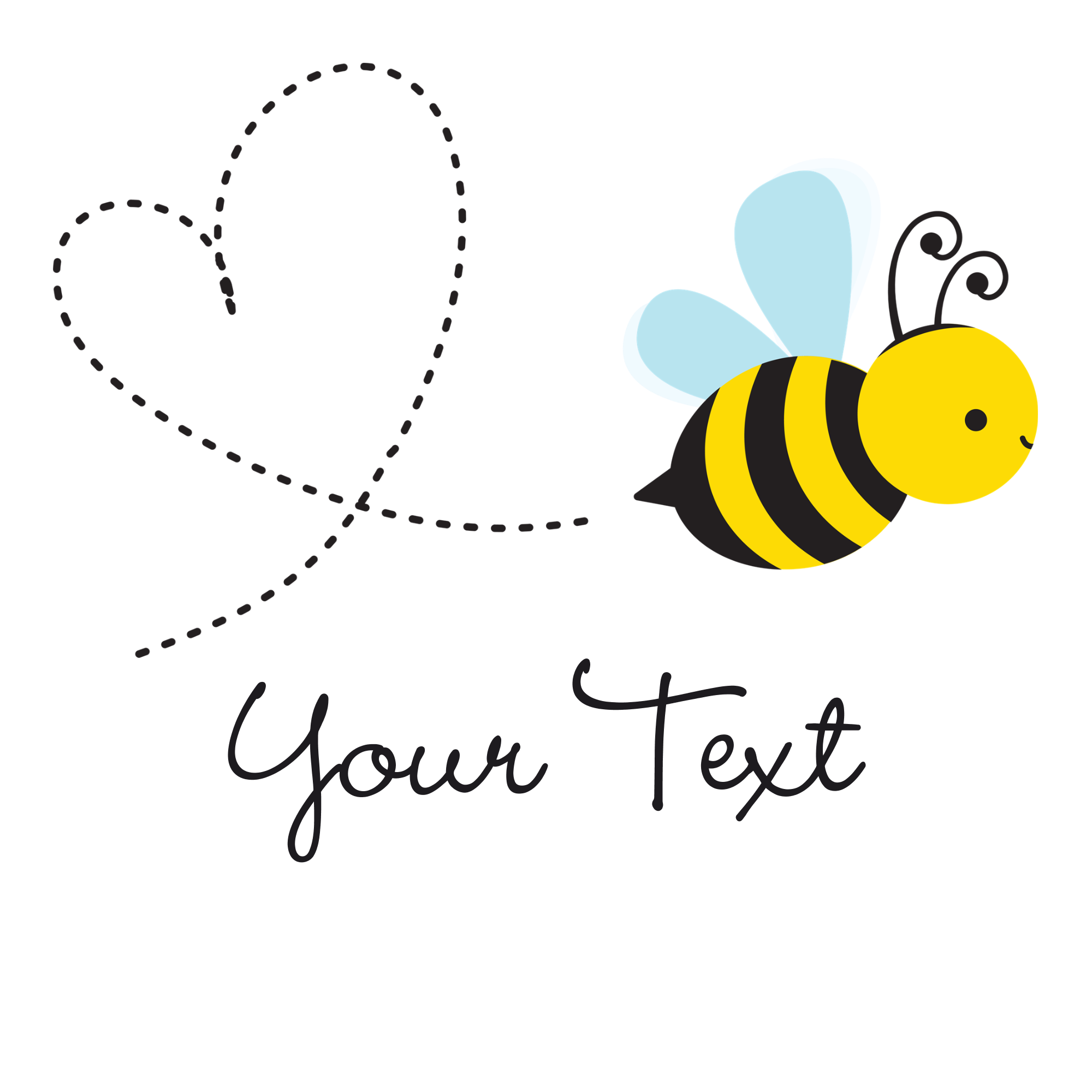 Cute png transparent images. Heart clipart bee