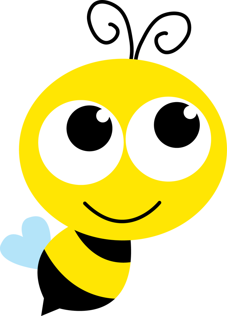 Clipart bee head. Free download clip art