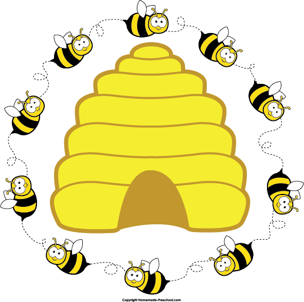 Craft pinterest bees bumble. Lds clipart beehive