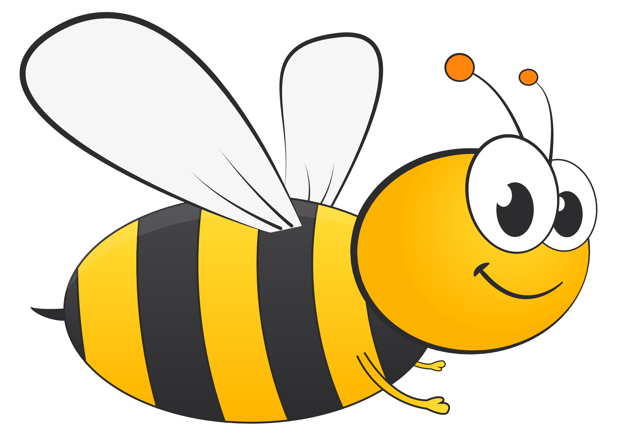 Clipart love honey bee Clipart love honey bee Transparent