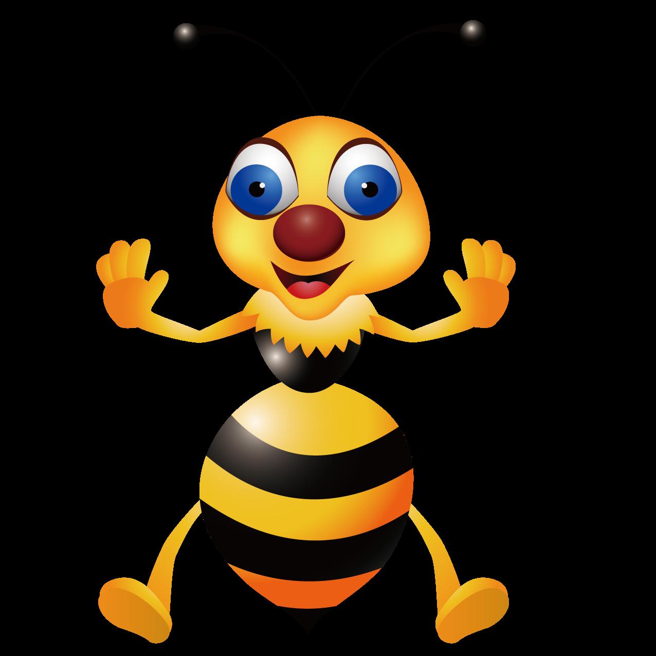 Clipart bee hornet. Wasp clip art cute