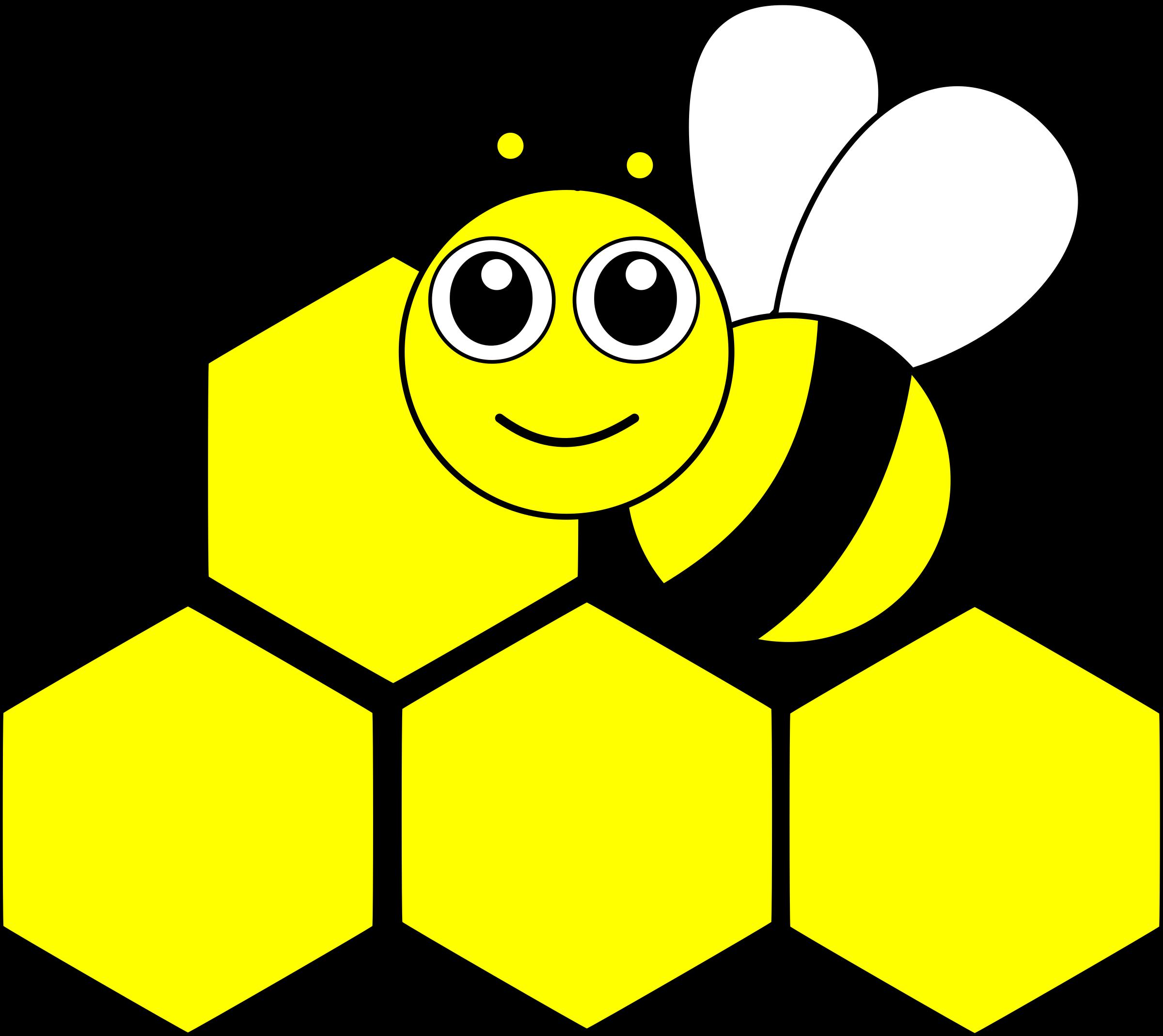 Kawaii clipart bee. Abeille kawai big image