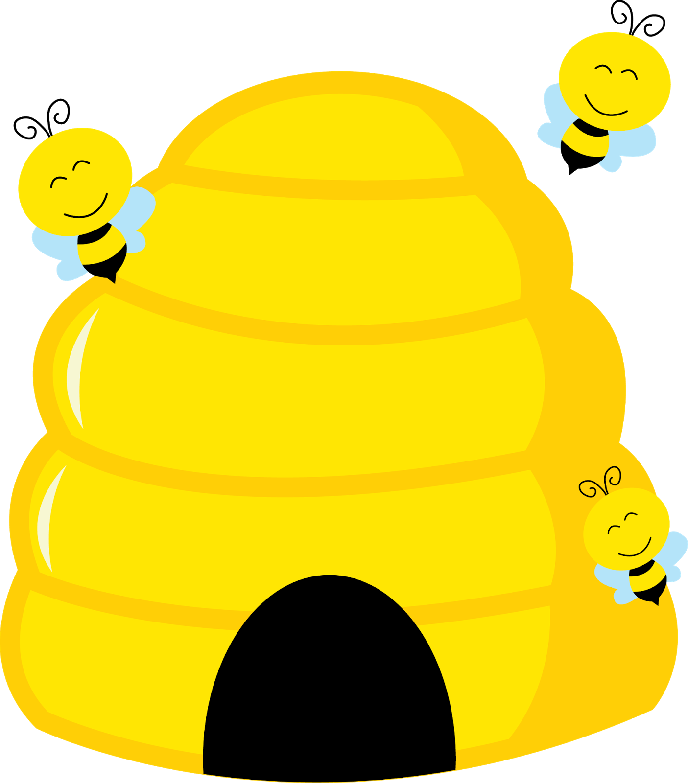Honeycomb clipart bee pollination. Abelhinha png pinterest