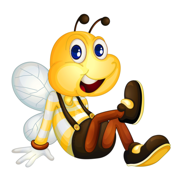 Abeilles png scrap booking. Clipart bee ladybug