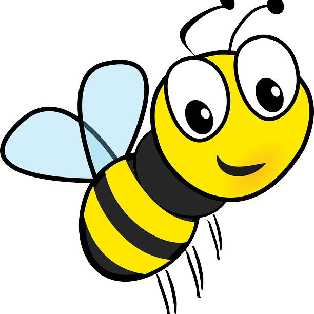 Bee cartoon at getdrawings. Hornet clipart drawing