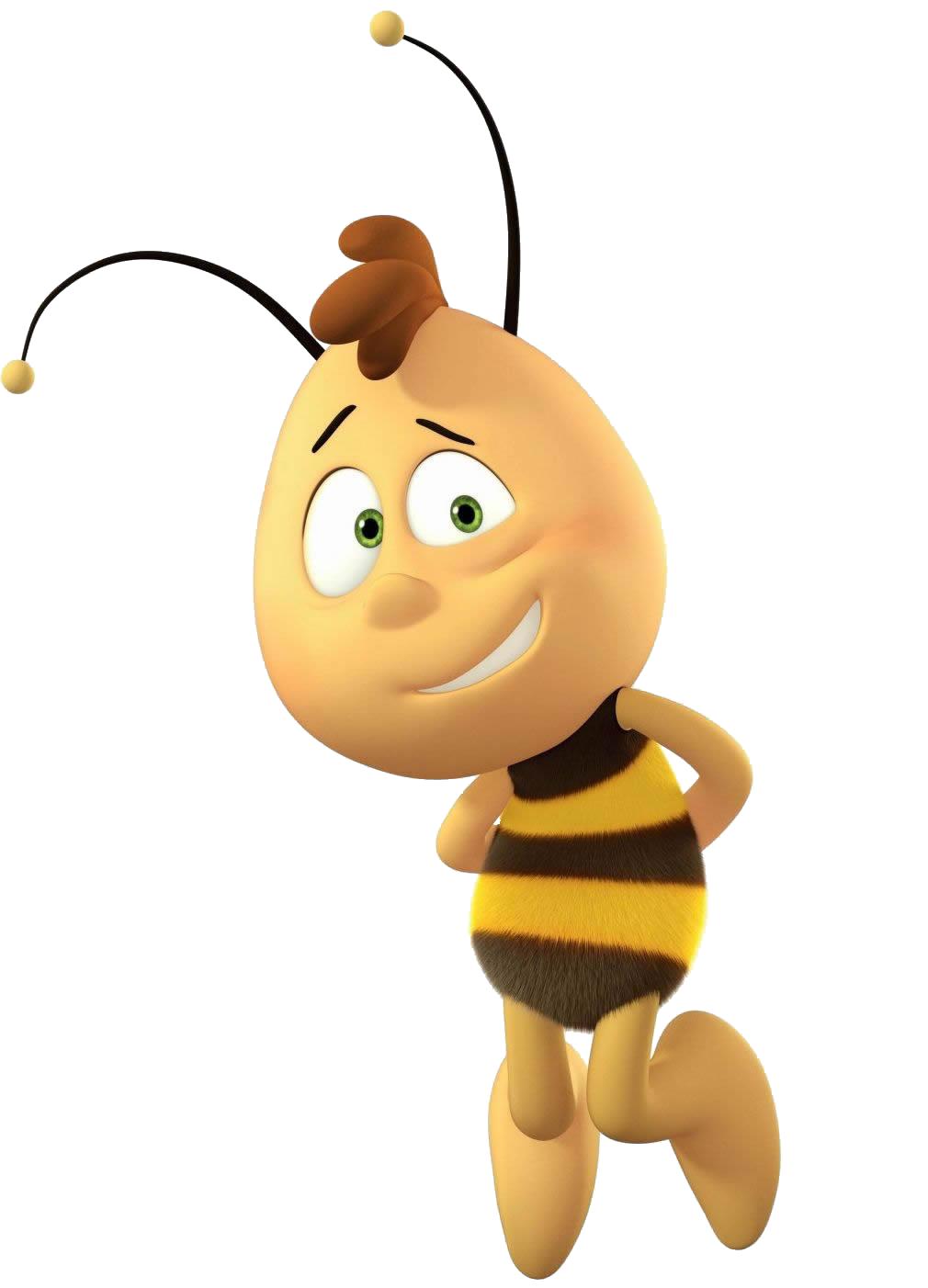 Willy maya the heroes. Hero clipart bee