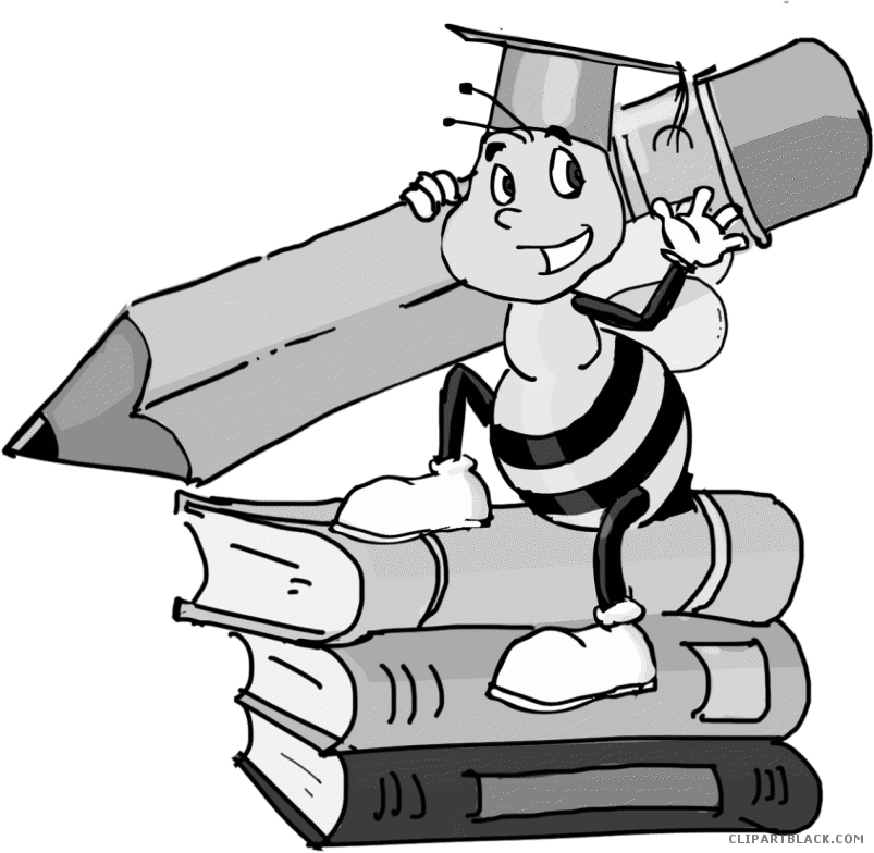 Clipart bee pencil.  collection of spelling