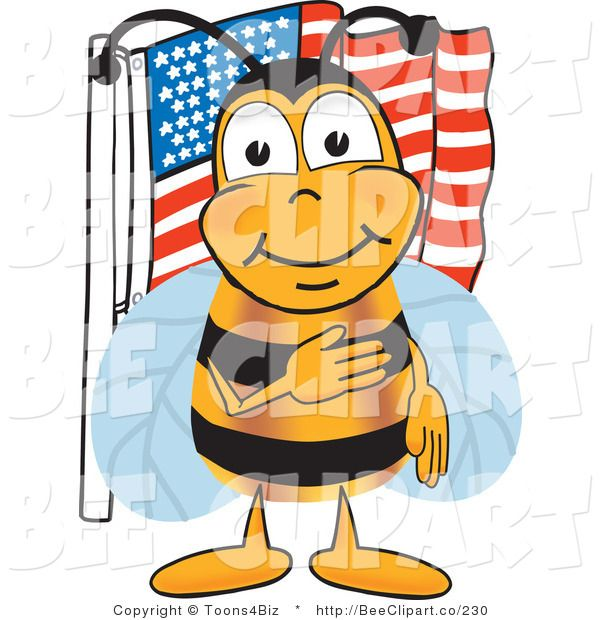 Clipart bee science. Clip art of a