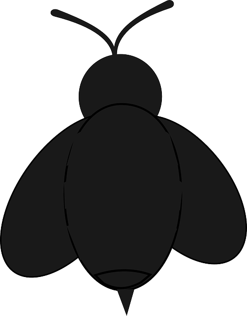 Google search patterns and. Silhouette clipart bee