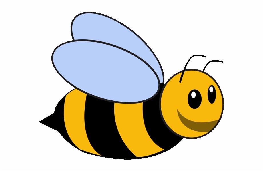 Bumble cartoon transparent background. Clipart bee template