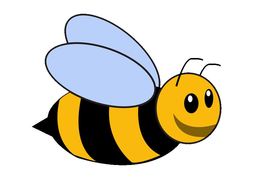Bumble template desktop backgrounds. Preschool clipart bee