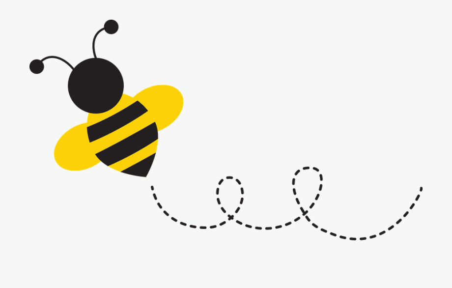 With free cliparts on. Clipart bee trail