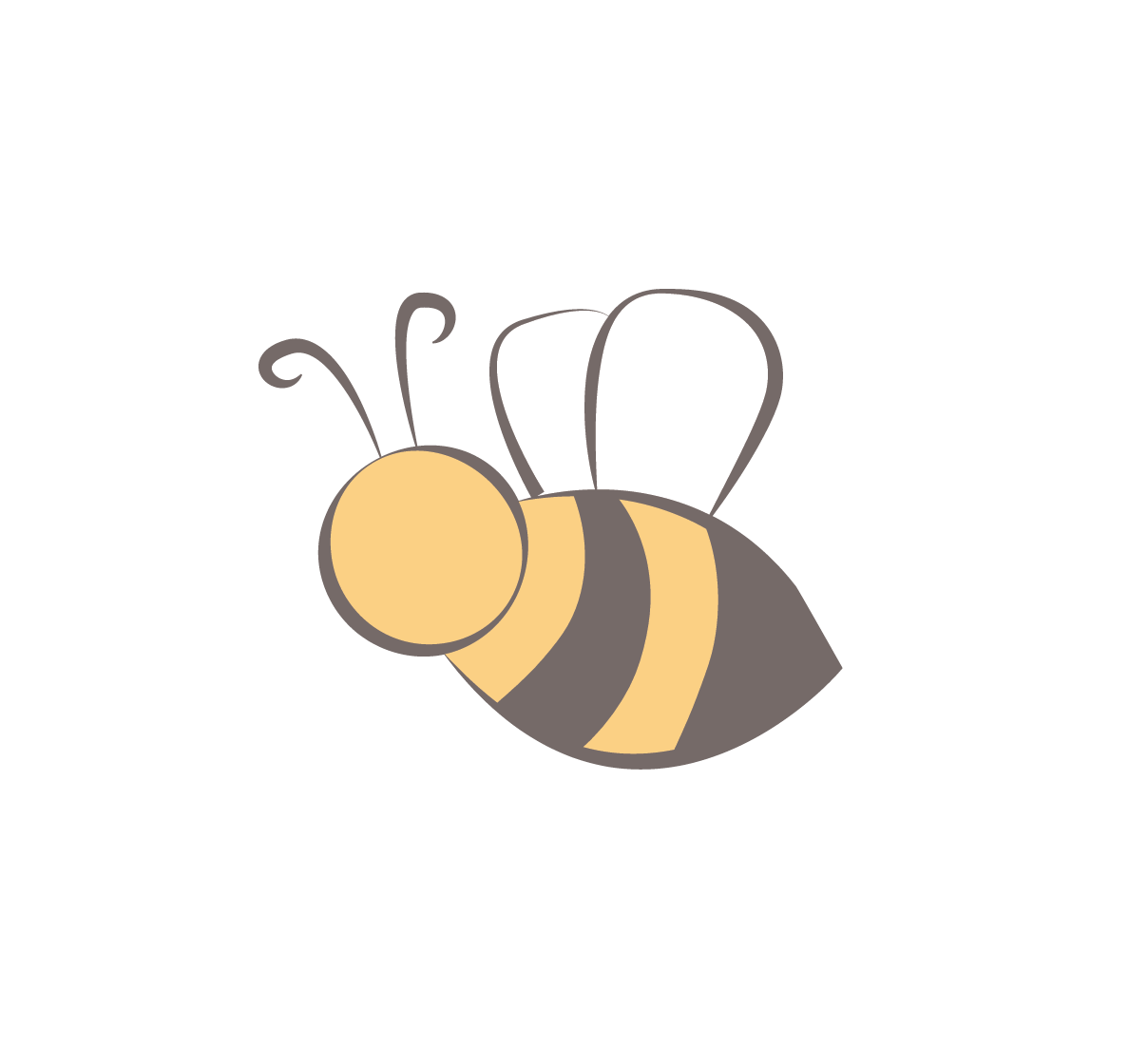 Clipart bee trail. Honeypot home ready for
