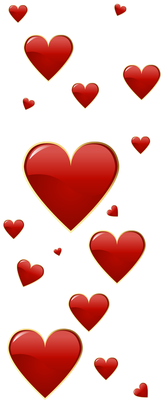 Valentine clipart stamp. Red hearts png pinterest