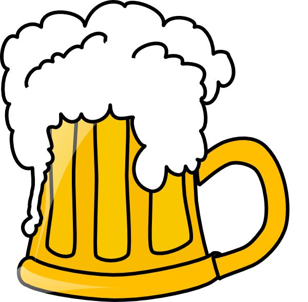 Flowing clip art at. Clipart beer alcahol