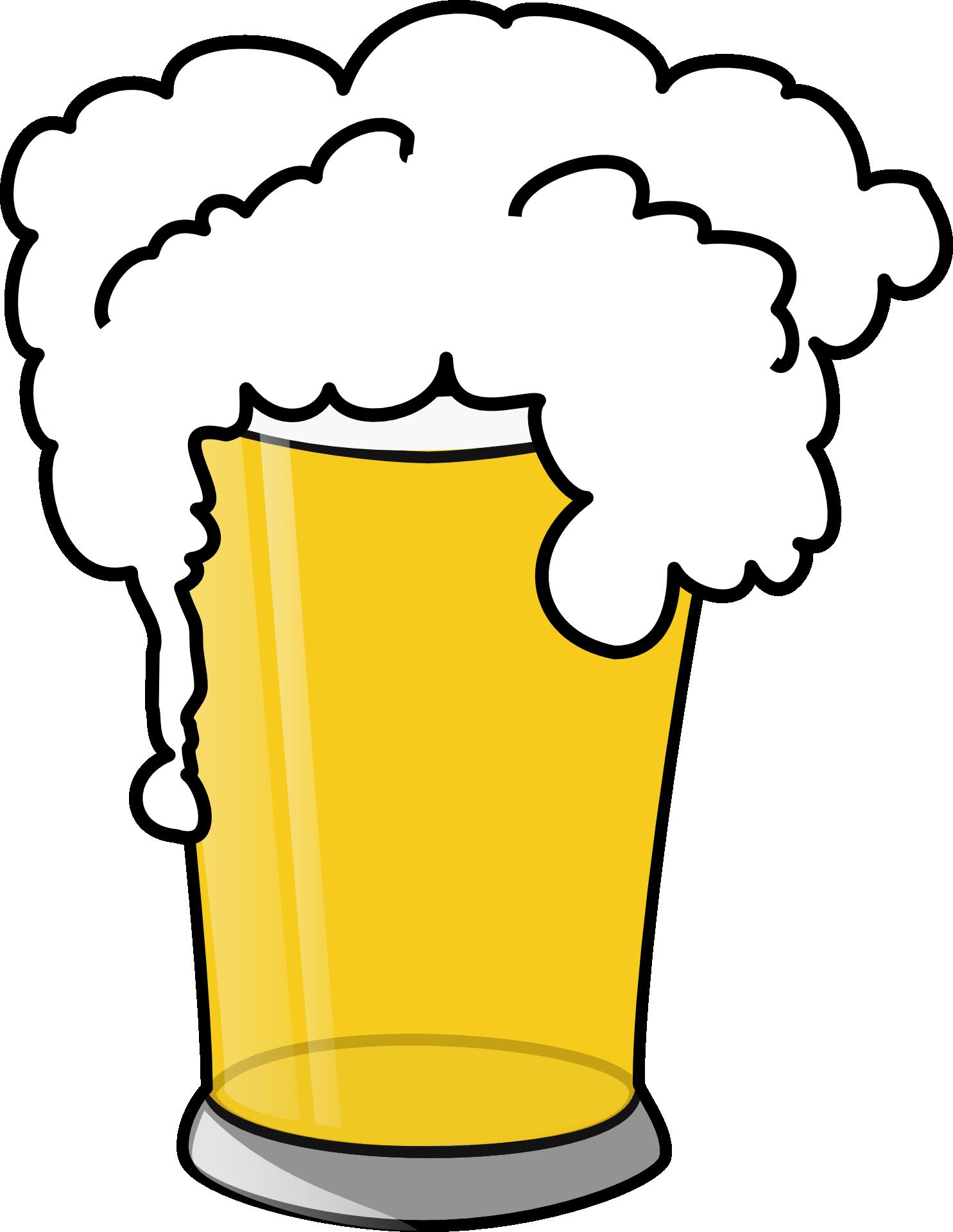 Beer alcoholic beverage