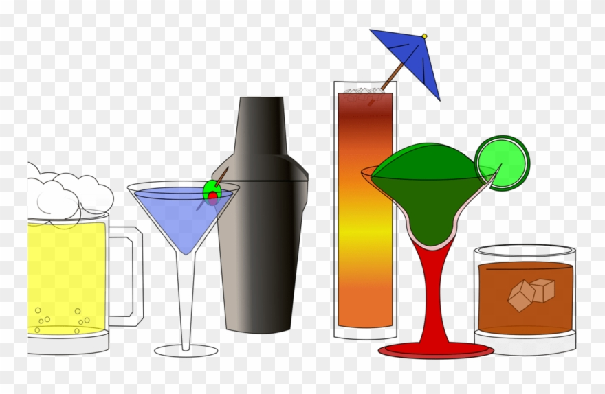 Non fizzy drinks cocktail. Cocktails clipart alcoholic drink