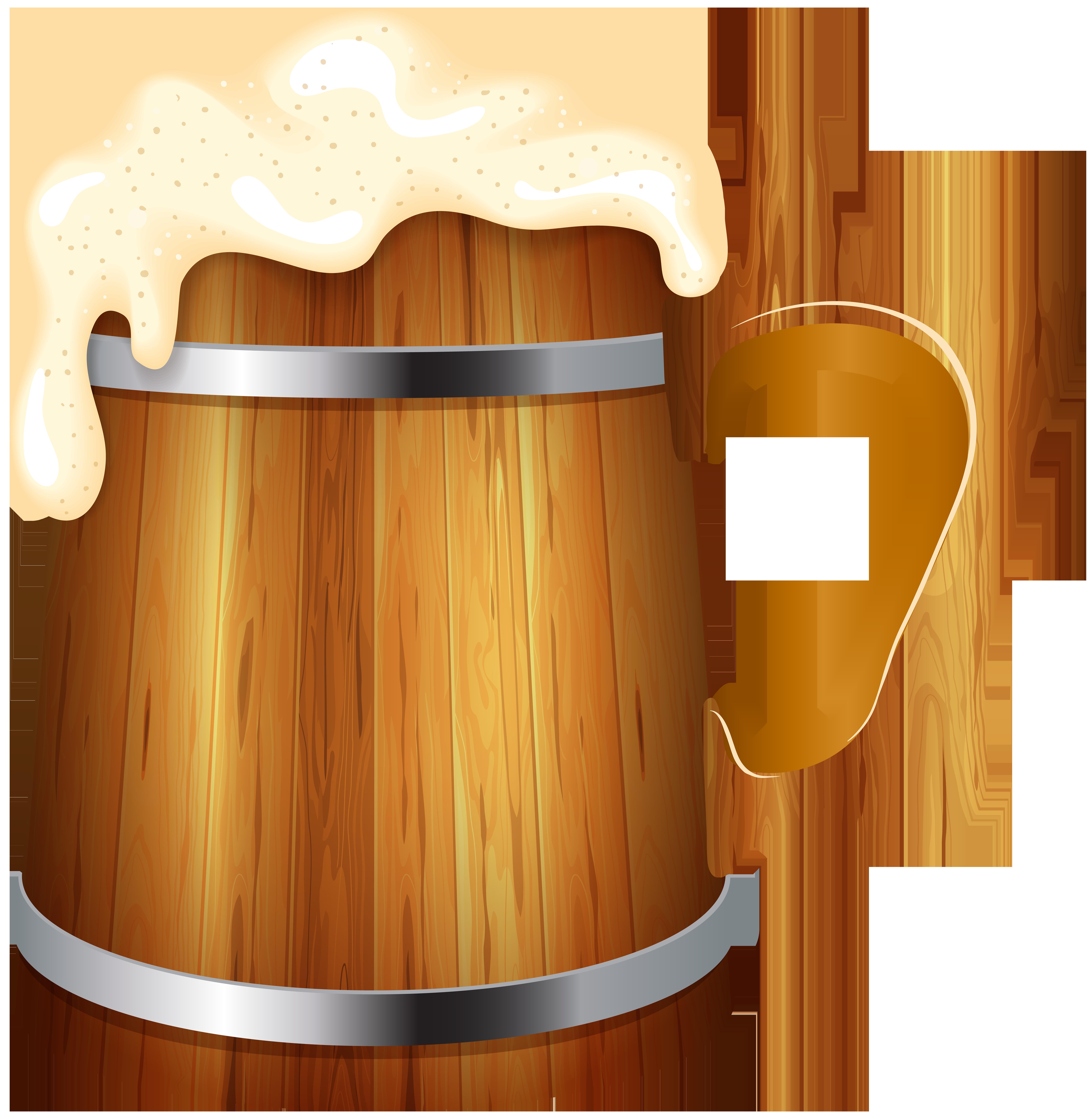 Wooden beer png clip. Mug clipart file