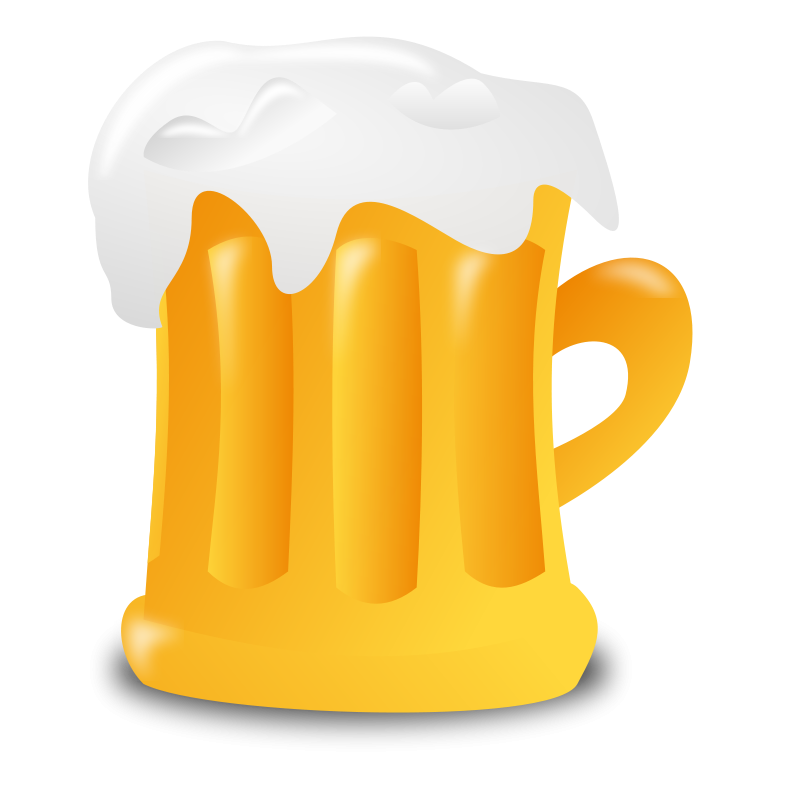 Clipart glasses beer. Free stock photo illustration