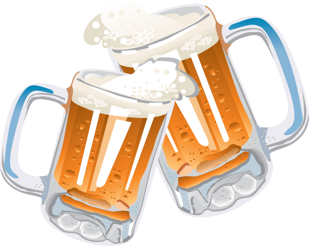 Glasses free clip art. Cup clipart beer