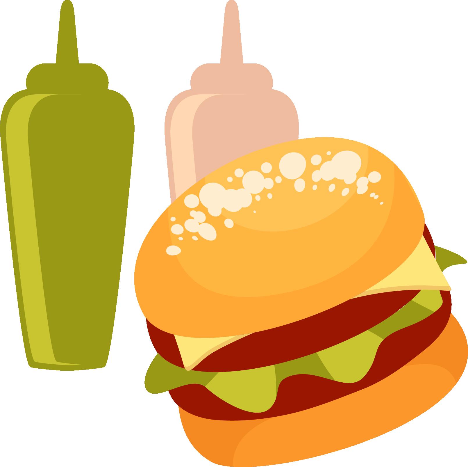 Clipart candy junk food. Hamburger fast clip art