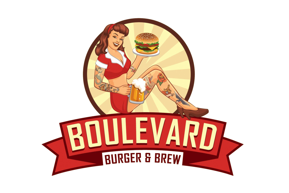 Boulevard burger brew . Soup clipart concoction