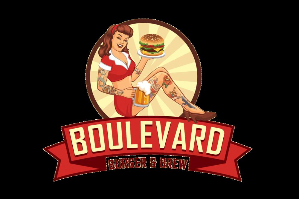 Shop clipart burger store. Boulevard brew