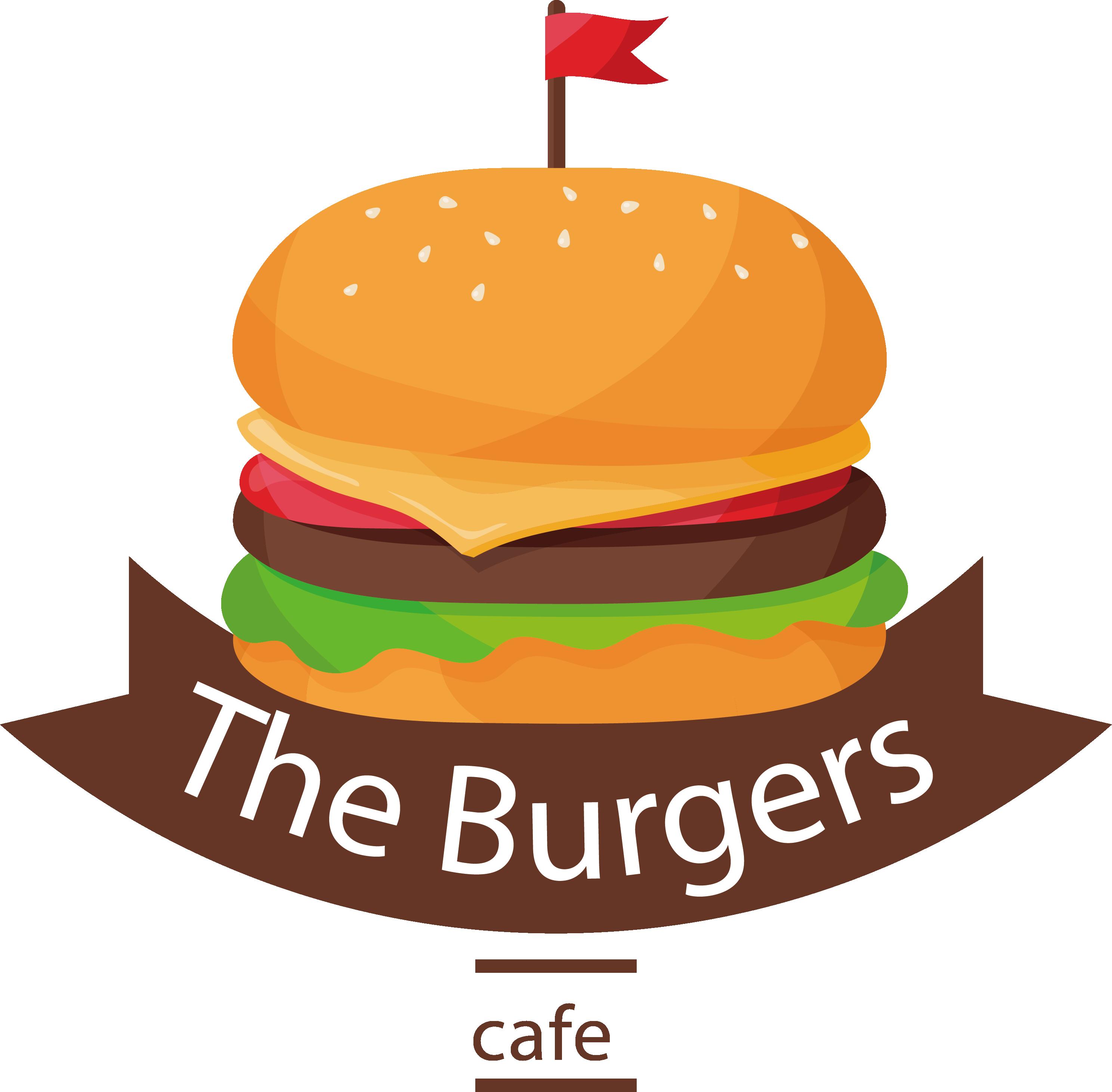 Clipart bread hamburger. Cheeseburger fast food logo