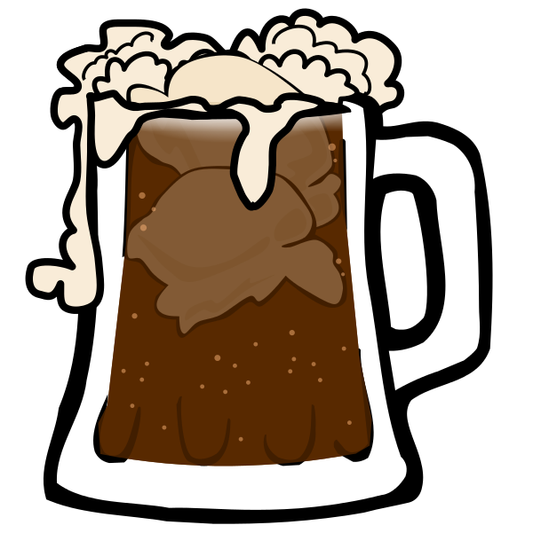 Root beer float . Hawaiian clipart limbo