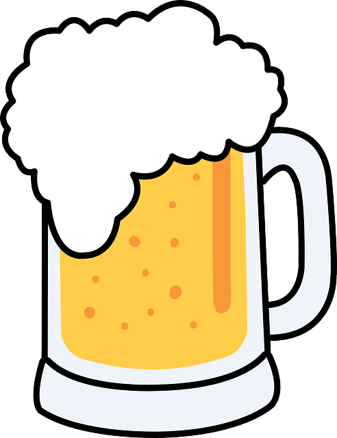 Free image on pixabay. Silhouette clipart beer