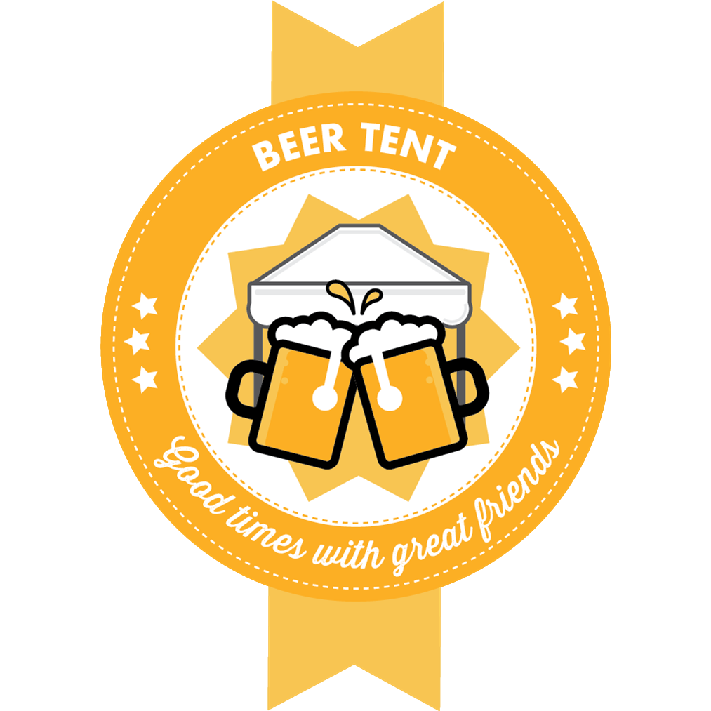Beer tent graphics illustrations. Taste clipart area