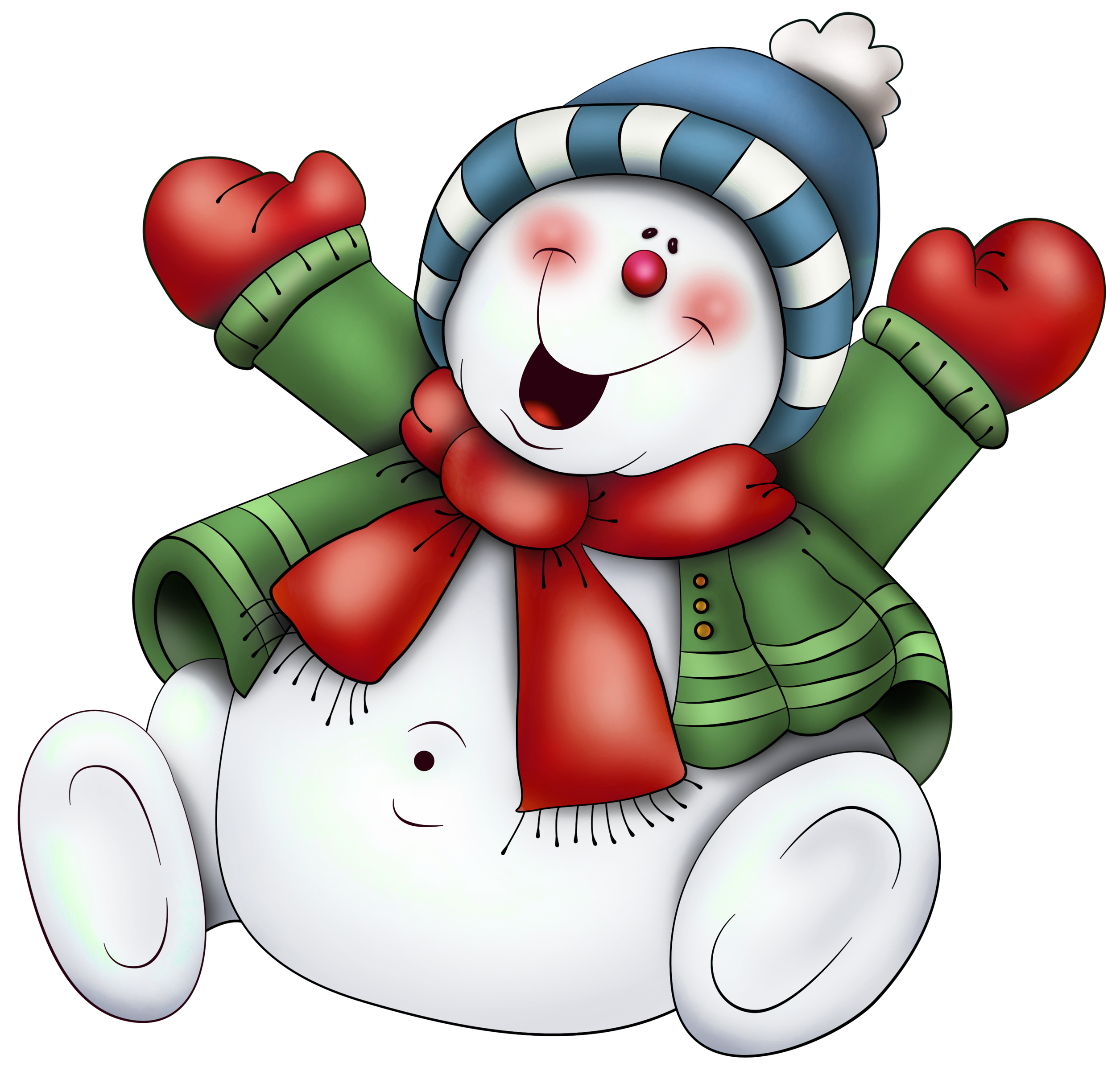 Snowman with scarf png. Motorcycle clipart christmas