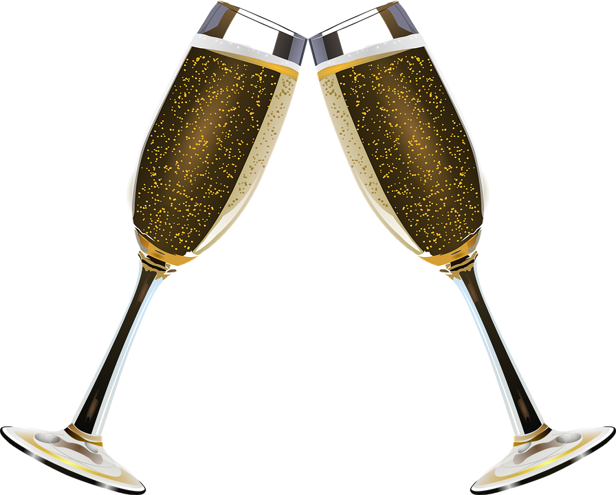 Cocktail clipart vintage champagne bottle. Gratis billede p pixabay