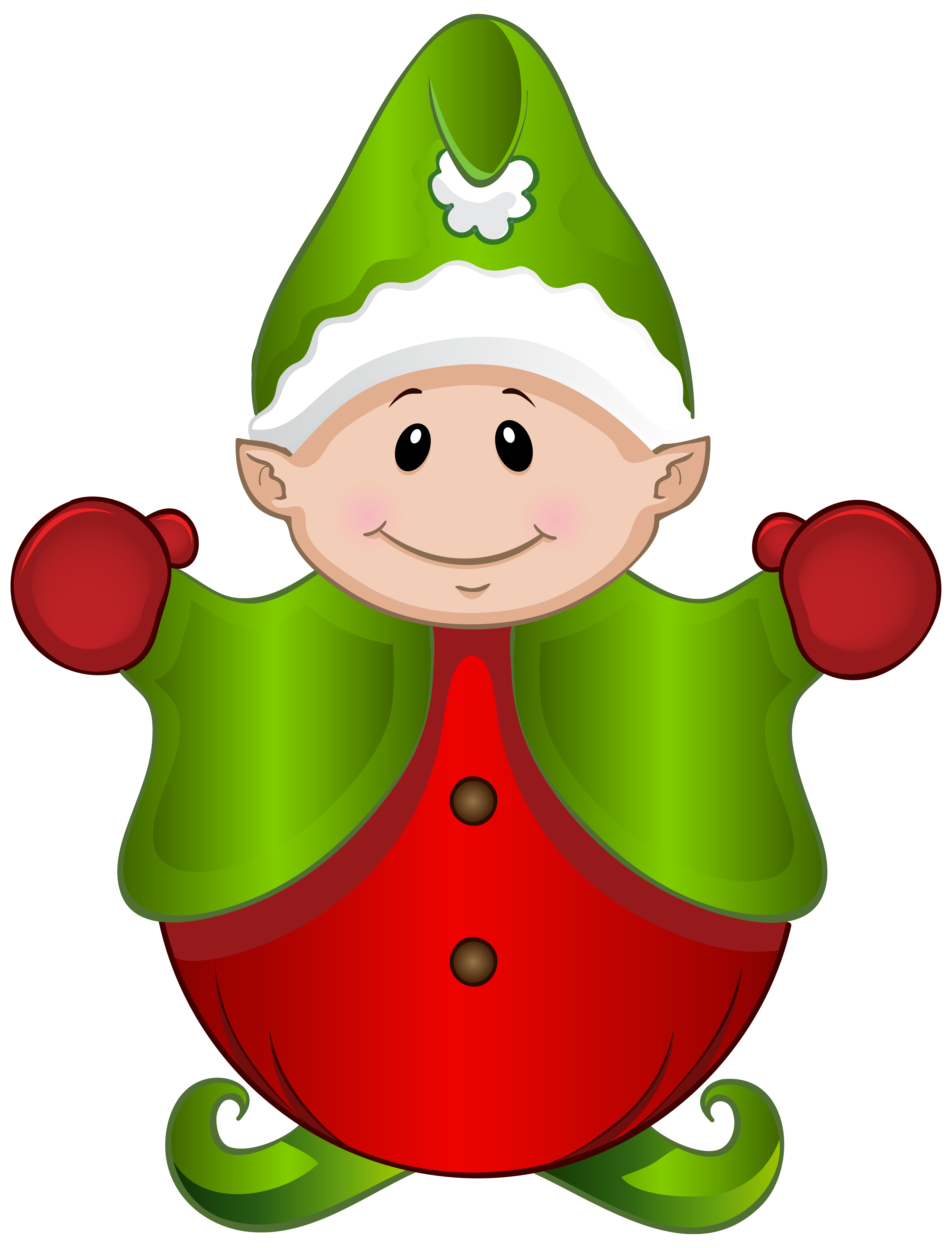 Fat clipart elf. Cute png image gallery