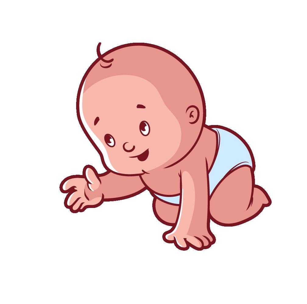 Diaper clipart donut. Infant cartoon child clip
