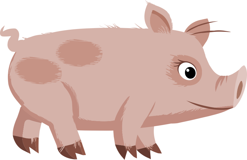 Download clip art free. Pig clipart easter