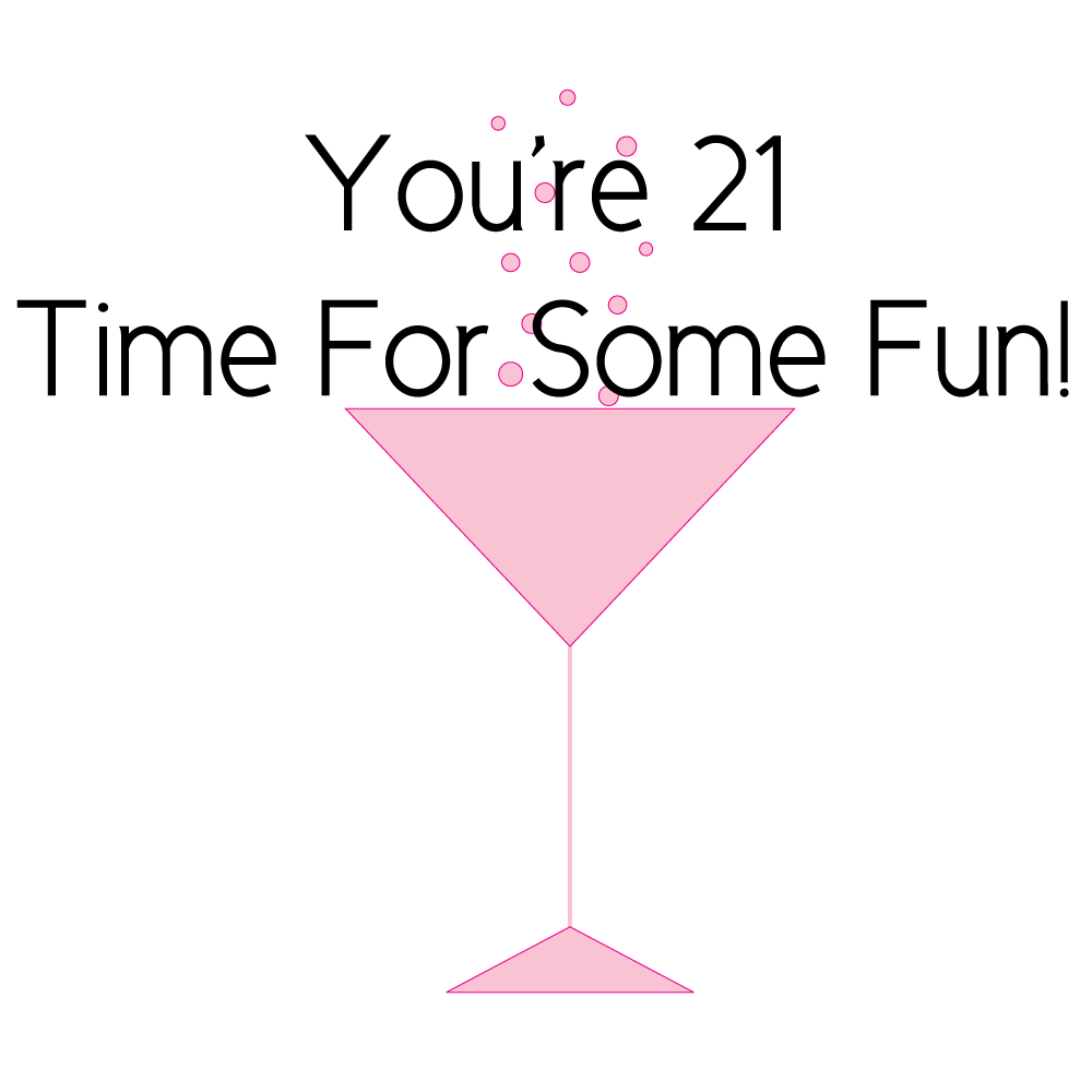 Drinking age america vs. Cocktail clipart birthday