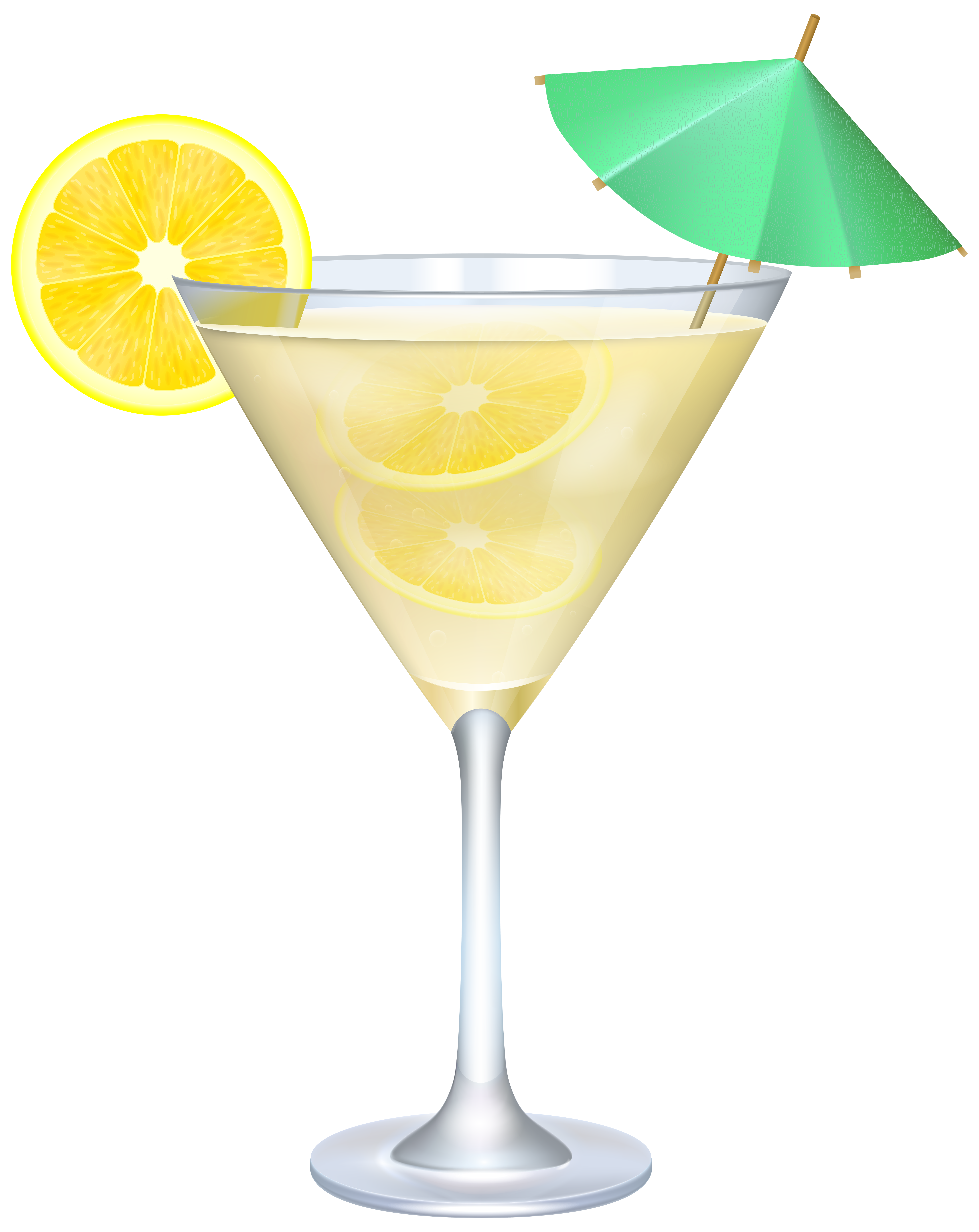 Evaporation clipart alcohol. Cocktail with lemon and